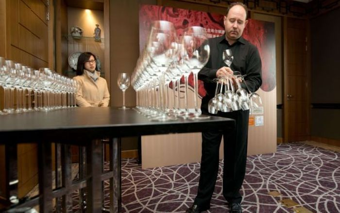 Wine Glass Holding Record (7 pics)