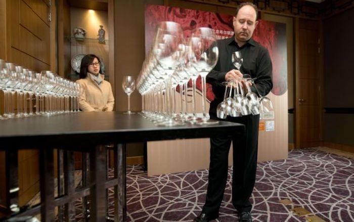 Wine Glass Holding Record (7 pics)
