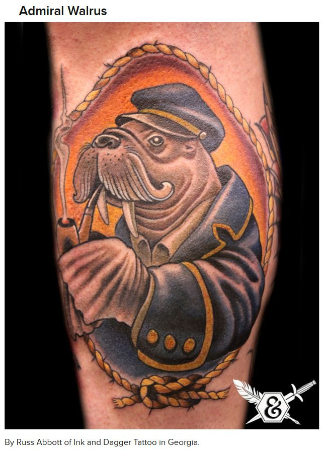 Awesome Nerd Tattoos (14 pics)