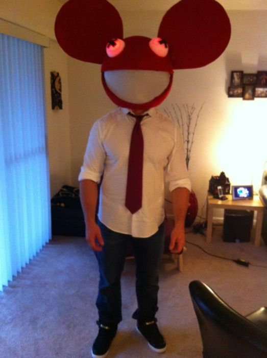 deadmau5 head halloween costume 51 pics