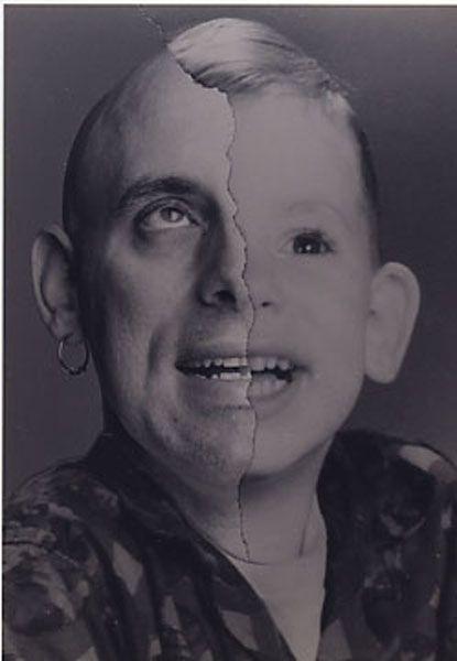 Split Family Faces. Part 3 (18 pics)