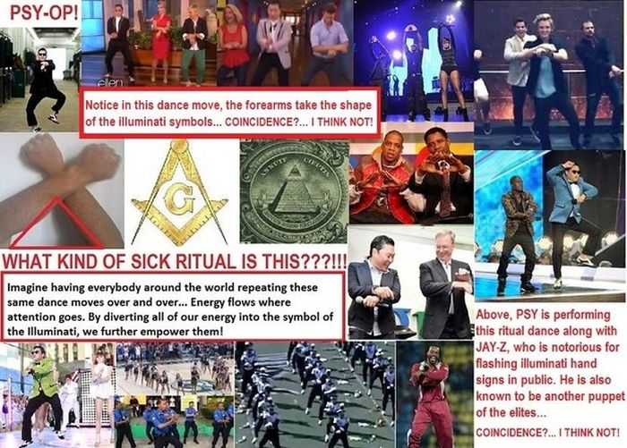 "Is ""Gangnam Style"" Really Just Illuminati Propaganda? (7 pics)"
