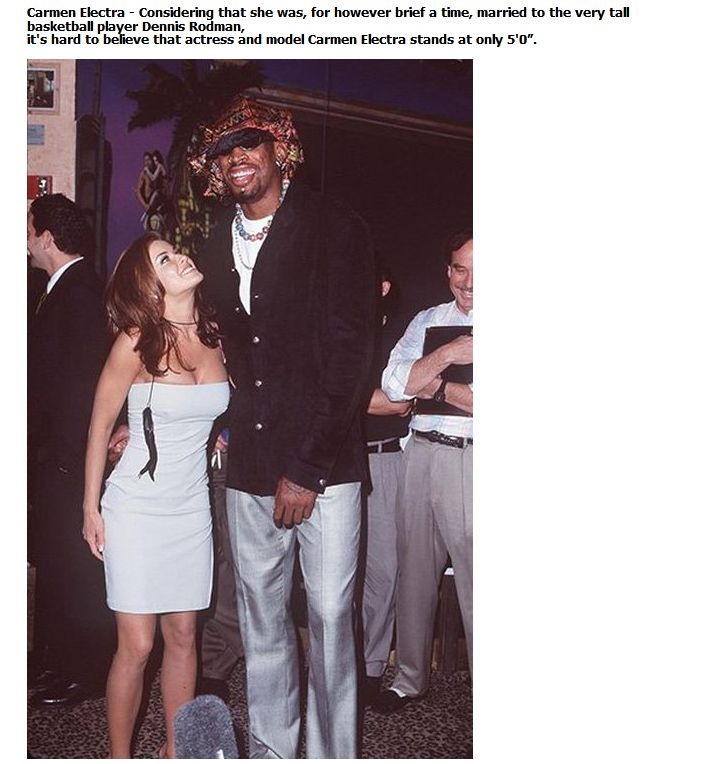 Shocking Celebrity Heights (24 pics)
