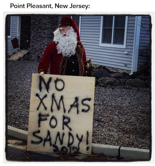 Funny, Absurd and Inspiring After Hurricane Sandy (39 pics)