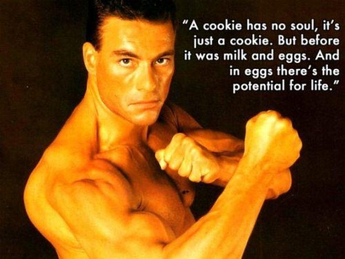 Jean Claude Van Damme Wisdom (19 pics)