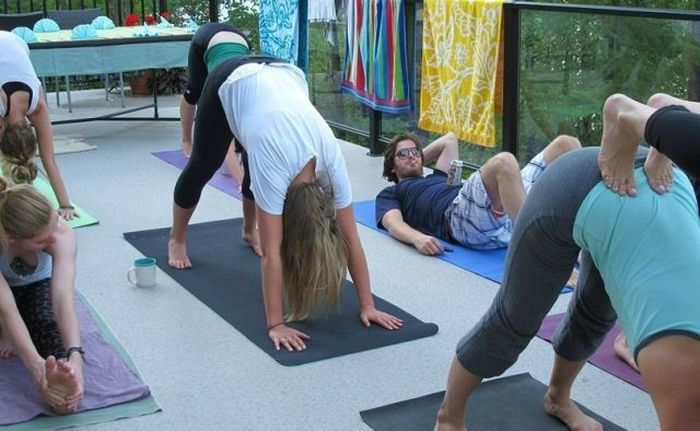 Yoga Pics (36 pics)