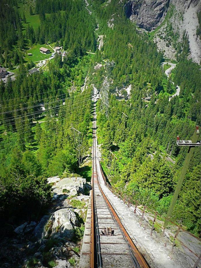 Gelmer Funicular & Handeck Bridge (17 pics)