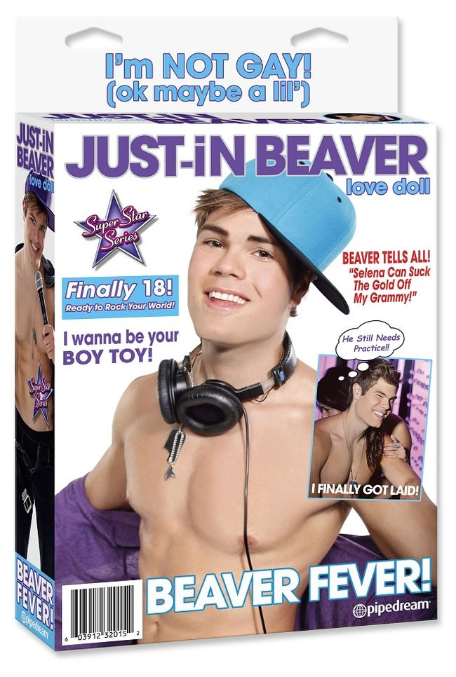 Just-in Beaver, the Justin Bieber Sex Doll (4 pics)