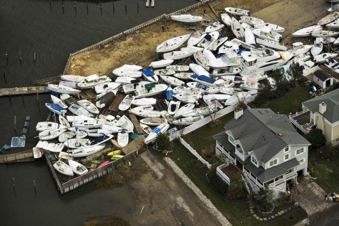 Sandy Destruction From Above (46 pics)