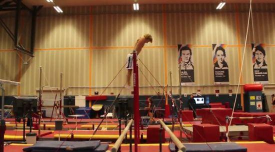 Unbelievable High Bar Performance Skills