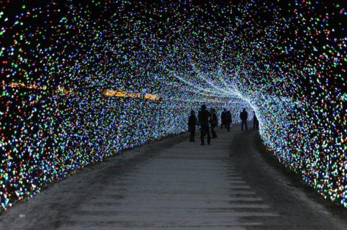 Japan's Winter Light Festival (15 pics)
