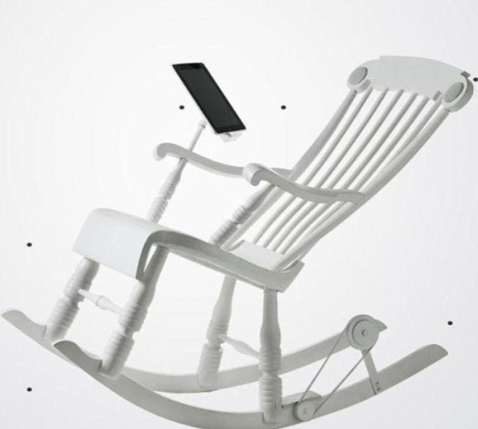 iRock, the Most Modern Rocking Chair (5 pics)
