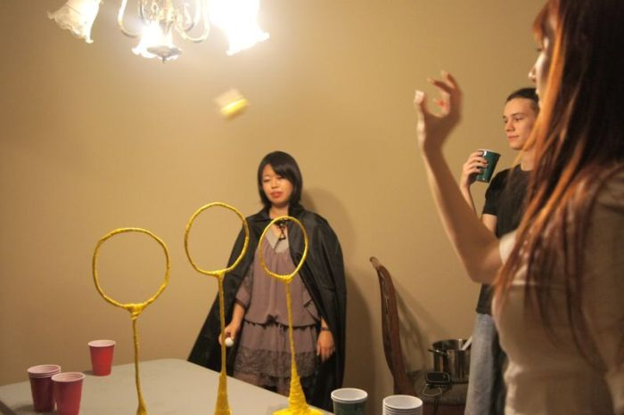 Quiddich Pong (9 pics)