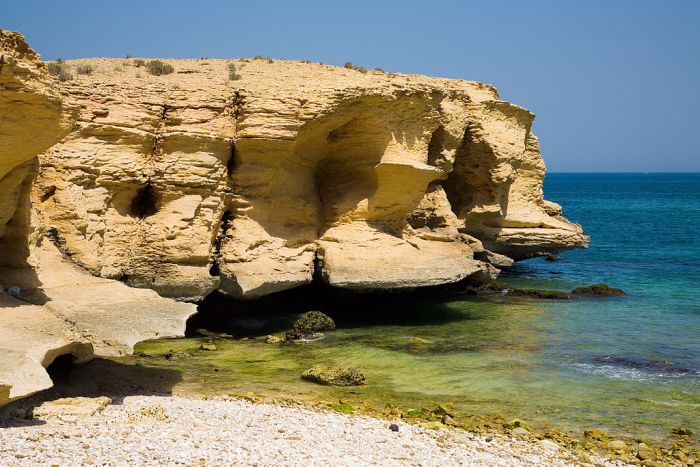 Wadi Shab, Oman (16 pics)