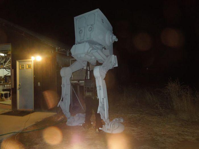Star Wars AT-ST Walker Costume (13 pics)