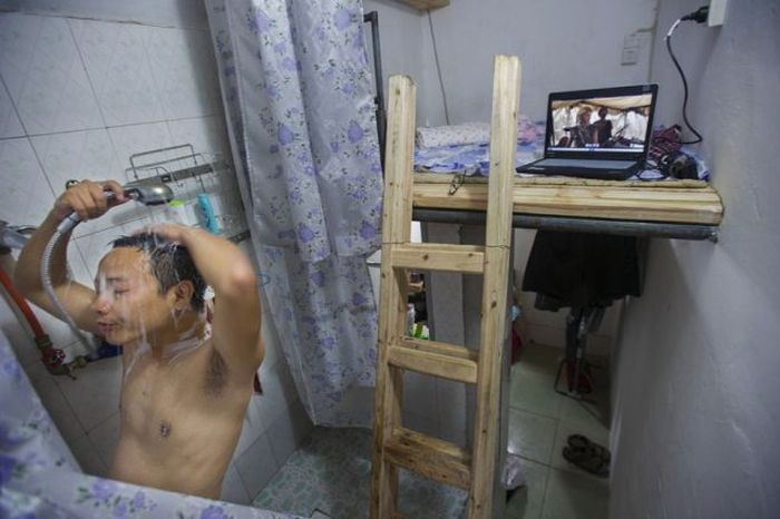 Dorms in China (15 pics)