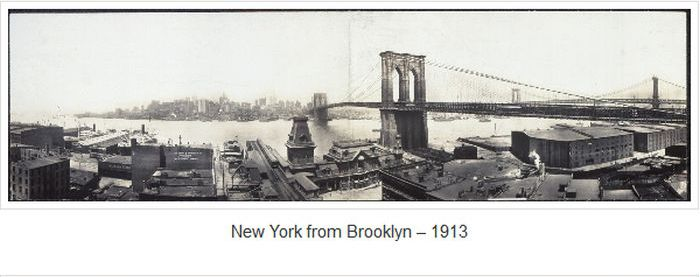 Panoramic Views of New York 1902-1913 (24 pics)