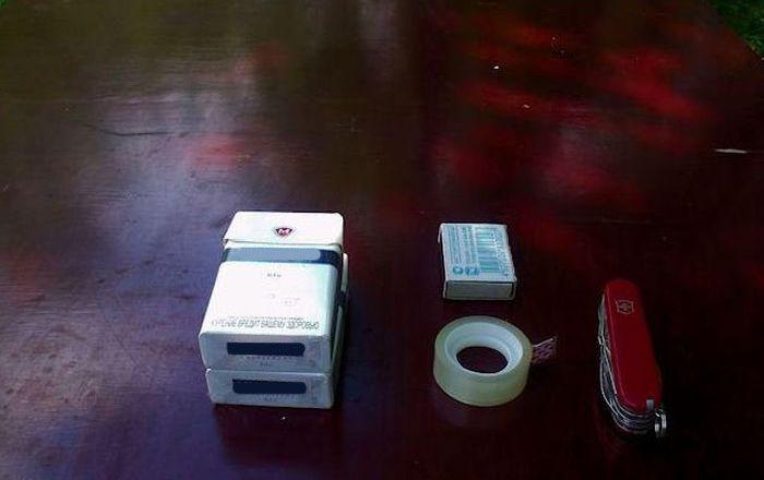 Small Canon (6 pics + video)