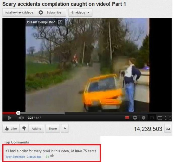 Funny Youtube Comments Part 8 (17 pics)