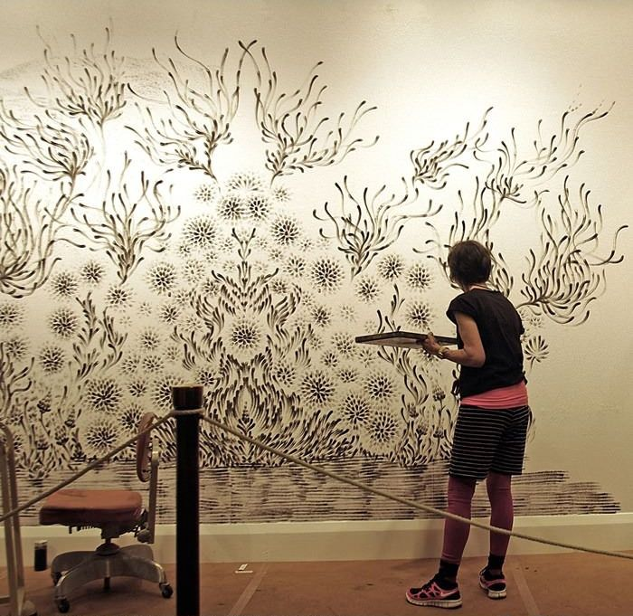 Beautiful Wall Art (8 pics)
