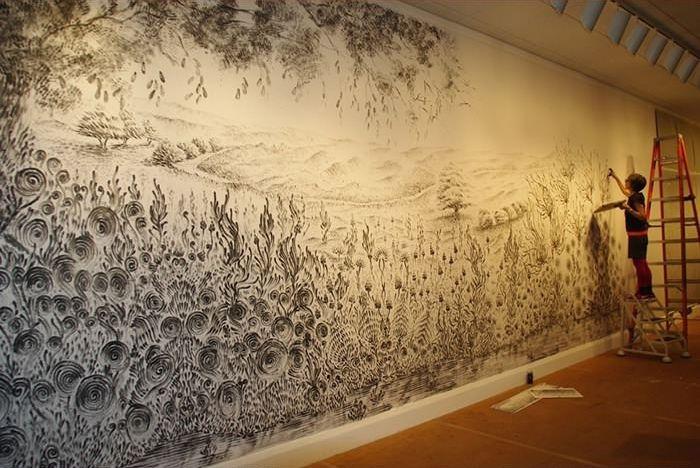 Beautiful Wall Art (8 pics)