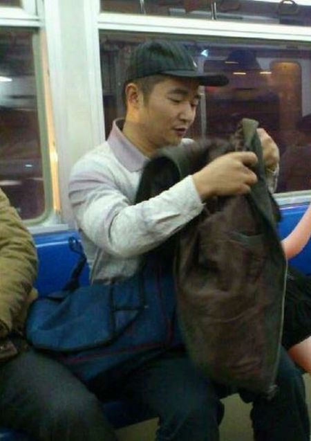 Man and His Girlfriend (4 pics)