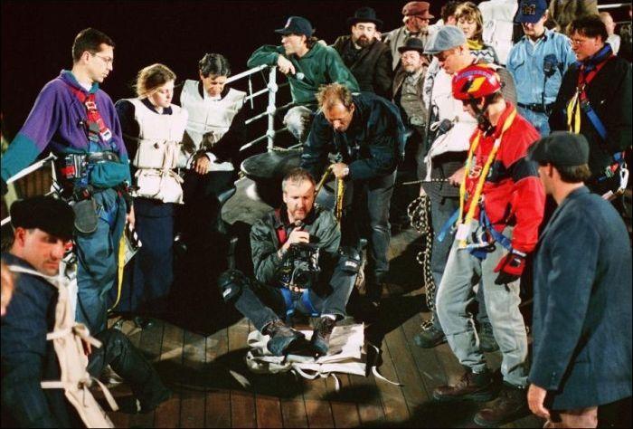 Titanic. Behind The Scenes (34 pics)