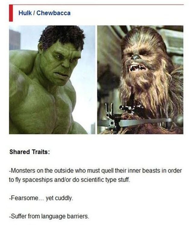 The Avengers and Star Wars Have a Lot in Common (7 pics)