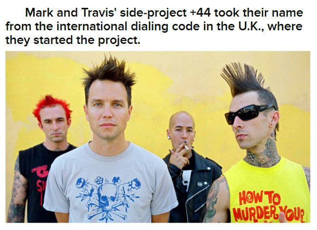 Interesting Facts About Blink-182 (20 pics)