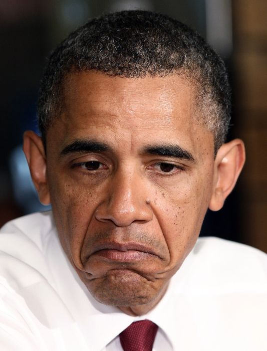 The Best of Barack Obama Facial Expressions (45 pics)