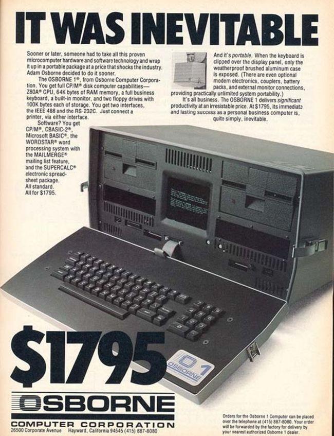 Osborne 1, the First Laptop Ever (4 pics)