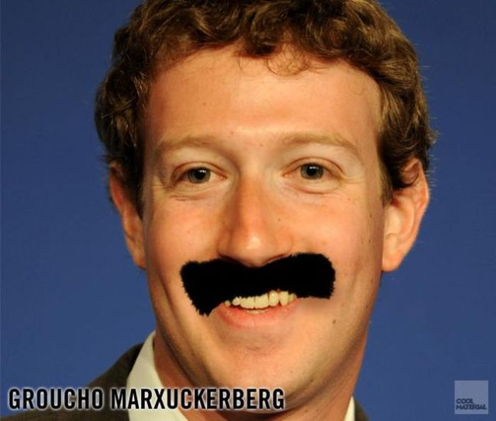 Celebrity with Mustaches (17 pics)