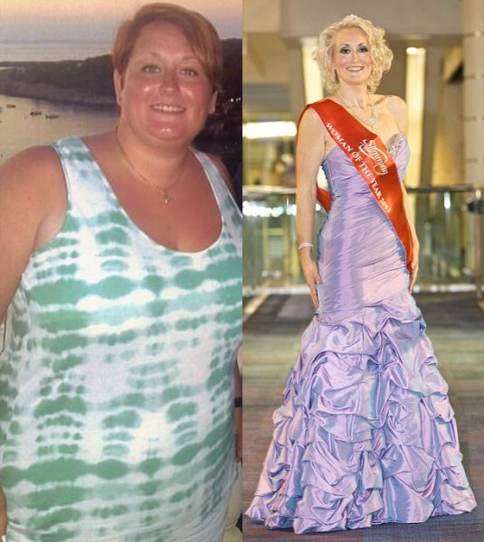 Before and After the Diet (8 pics)