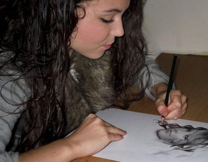 Realistic Pencil Drawings by Rajacenna (27 pics)