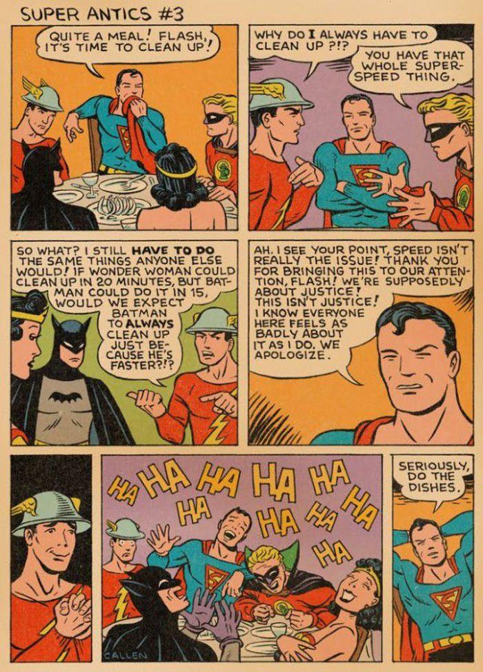Superman to the Rescue (3 pics)