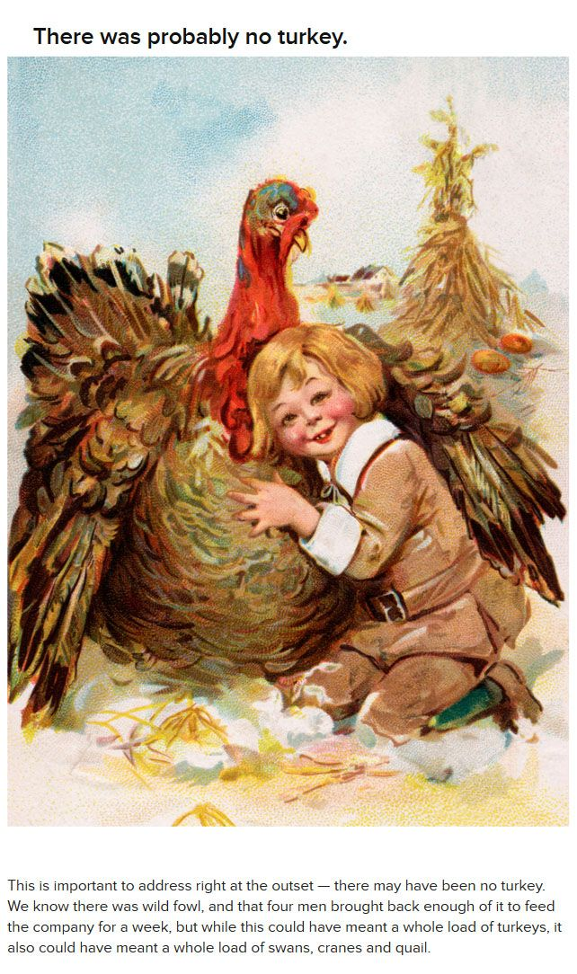 What You Didn't Know About The First Thanksgiving (15 pics)