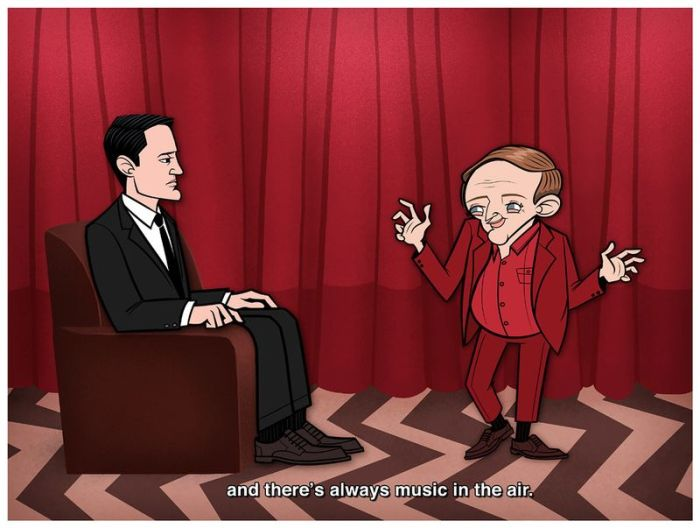 Famous Movies as Cartoons (30 pics)