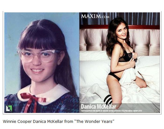 Celebs Then and Now (30 pics)