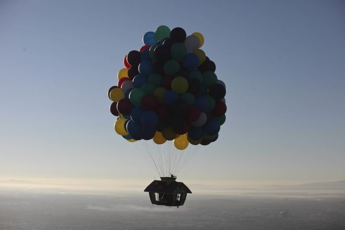 Up's Flying House In Real Life (8 pics)