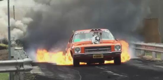 The Craziest Burnout That You Ever Seen