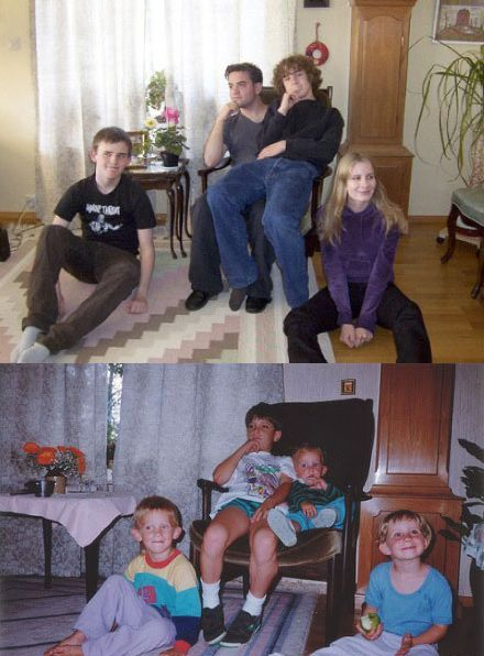 Then and Now. Part 7 (30 pics)