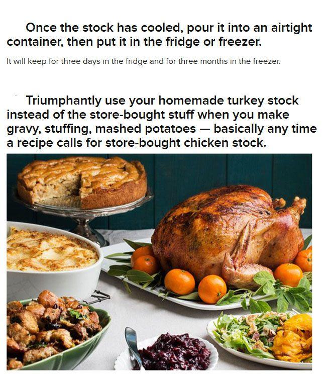 How To Make Turkey Stock (18 pics)