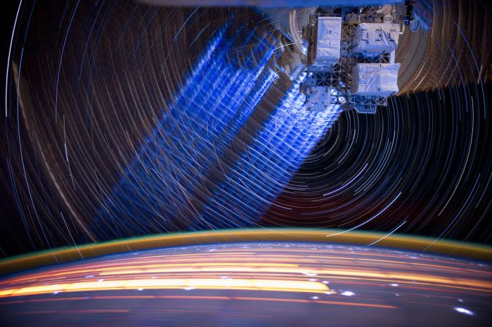 ISS Star Trails (36 pics)