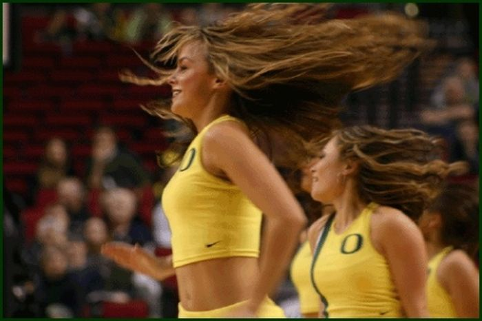 Oregon Cheerleaders (93 pics)