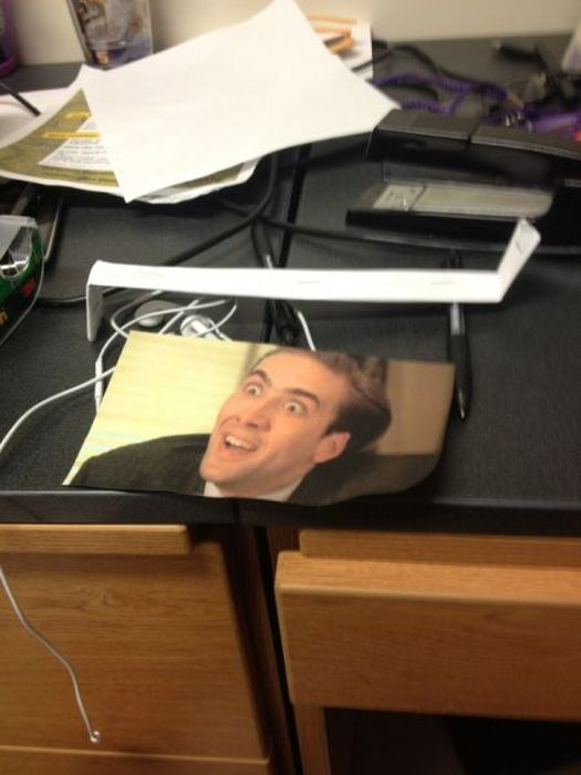 Caging People at Work (14 pics)
