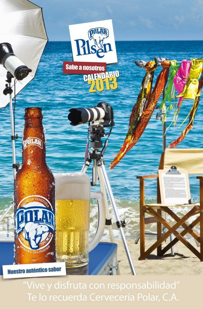 Chicas Polar Pilsen 2013 Calendar (16 pics)