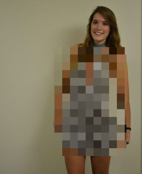 Homemade Mini Dress (5 pics)