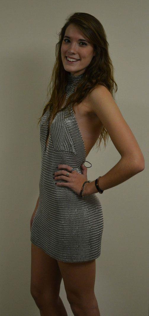 Homemade Mini Dress (5 pics)
