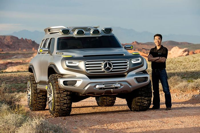 Mercedes-Benz Ener-G-Force (22 pics)