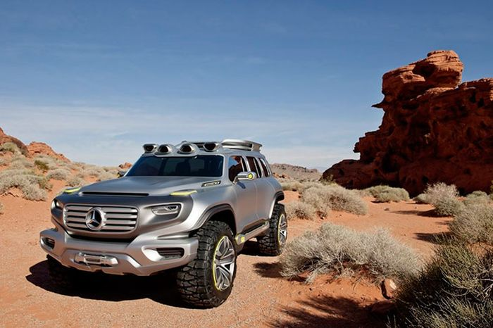 Mercedes-Benz Ener-G-Force (22 pics)